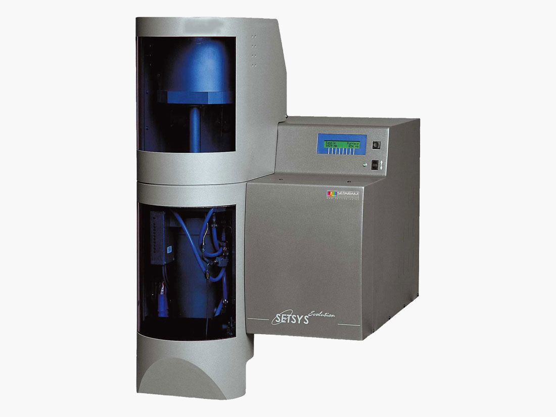 SETSYS Evolution DTA/DSC Thermal Analyzer