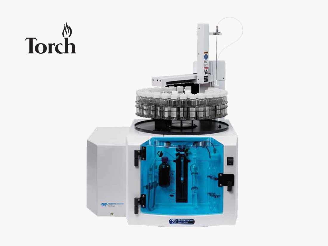 Torch Combustion TOC/TN Analyzer